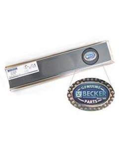 """Becker 90135000008 VANES/CARBON TW 500 FROM """"E""""  (SET OF 8)"""